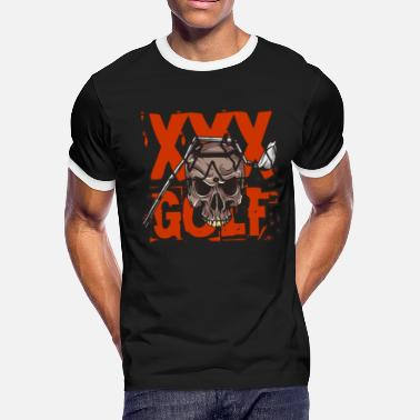 Cross Golf Golf Skull - Cross Golf - Golfing 2 - Men's Ringer T-Shirt