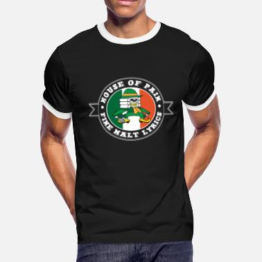Pain House of Pain The Fighting Irish-St Patricks Day - Men's Ringer T-Shirt