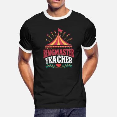 Ringmaster Teacher Ringmaster Teacher - Men's Ringer T-Shirt