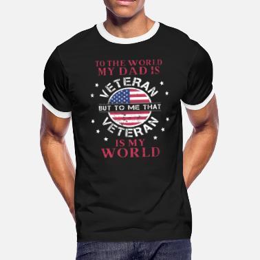 db1ad189 Veteran Son My Dad Is Veteran That Veteran Is My World - Men'