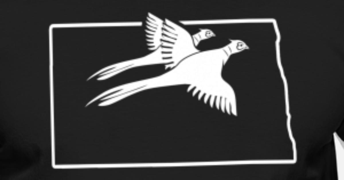 Pheasant Hunting Clothing North Dakota Hunting Bird Men's Ringer T-Shirt |  Spreadshirt