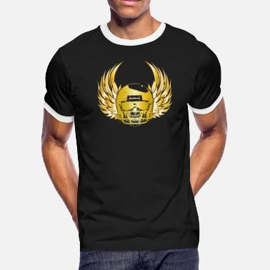 Scorpion Football Lucky golden football gifts - Men's Ringer T-Shirt