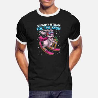 Aprèsski Ski Bunny Is Ready For The Snow - Apres Ski - Men's Ringer T-Shirt