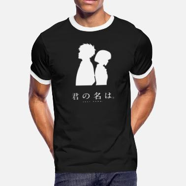Funimate Kimi No Na Wa (Light) - Men's Ringer T-Shirt