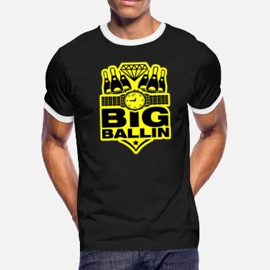 big_ballin_vu2 - Men's Ringer T-Shirt