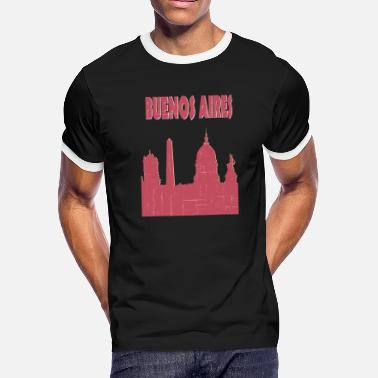 I Love Buenos Aires BUENOS AIRES City - Men's Ringer T-Shirt