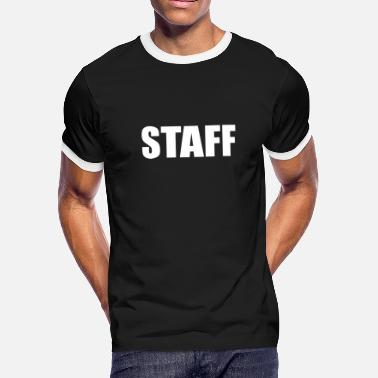 Staff Bull STAFF - Men's Ringer T-Shirt