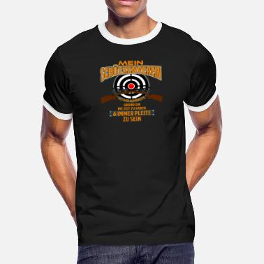 Shooting Club Gun Club - Men's Ringer T-Shirt