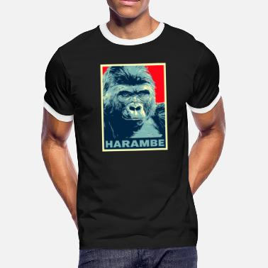 gorilla - Men's Ringer T-Shirt
