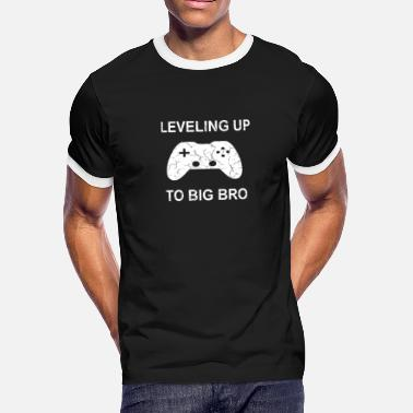 7336f2aa9 Leveling Up To Big Bro Gift - Men's Ringer T-Shirt