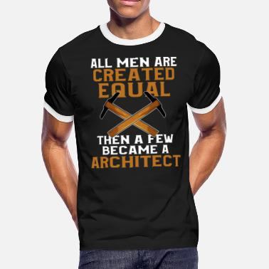 Architect Birthday Architect - Men's Ringer T-Shirt