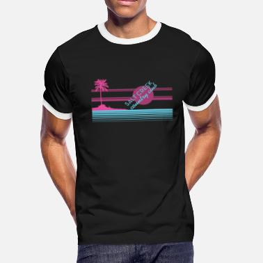 Salted Music Salt Creek Miami Style - Men's Ringer T-Shirt