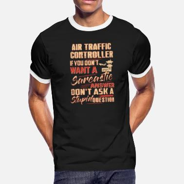 Air Traffic Controller Apparel Air Traffic Controller Shirt - Men's Ringer T-Shirt