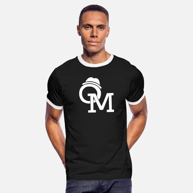 Animal T-Shirts - Olly Murs - Men's Ringer T-Shirt black/white