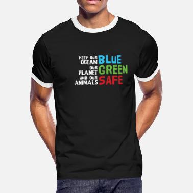 Fridays For Future Friday For Future Climate Protection gift - Men's Ringer T-Shirt
