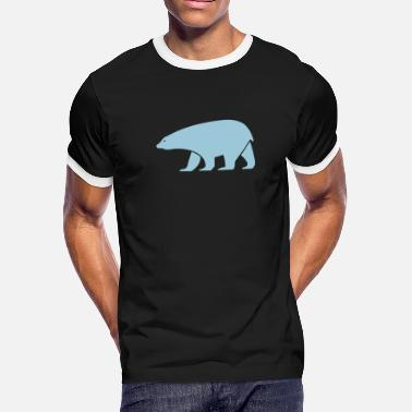 Iceberg polar bear - Men's Ringer T-Shirt