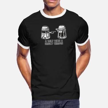 Deadly Weapon A Salt With A Deadly weapon - Men's Ringer T-Shirt
