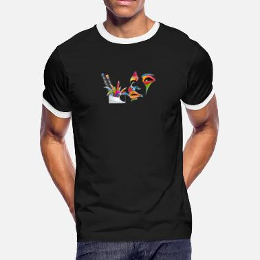 GRAPHISME DE PRODUCTION 2 - Men's Ringer T-Shirt