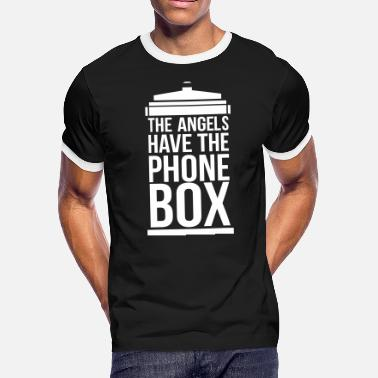 Box the angels have the phone box - Men's Ringer T-Shirt