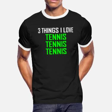 Tennis Tennis Tennis Tennis - T-shirt contrastant Homme