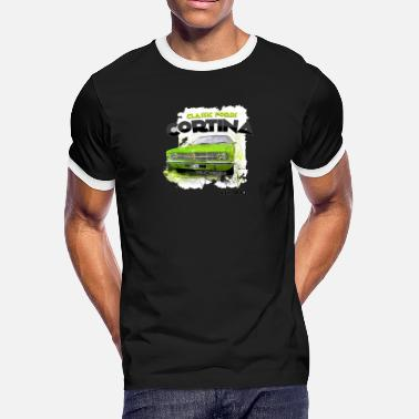 Ford Car Classic Car Cortina Fords - Men's Ringer T-Shirt
