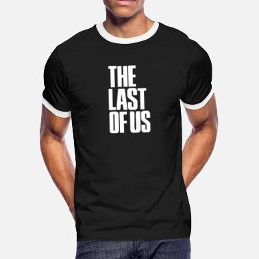 Us 2015 free shipping The Last of Us font T font - Men's Ringer T-Shirt