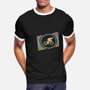 Bike Racing Race Bike - Men's Ringer T-Shirt