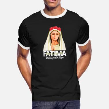 Our Lady Of Fatima D - Men's Ringer T-Shirt
