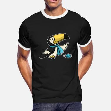 Curling Sports Curling, Curl, winter sport - Men's Ringer T-Shirt