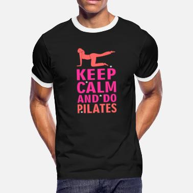 Excercise Class Pilates - Men's Ringer T-Shirt