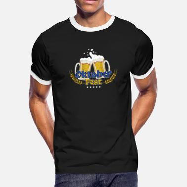 German Bier Awesome Oktoberfest Germany German Bier - Men's Ringer T-Shirt