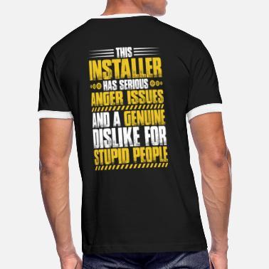 9f937aad Hvac Installer Installer - Installation - Anger Issues (Gift) - Men'. Men's  Ringer T-Shirt