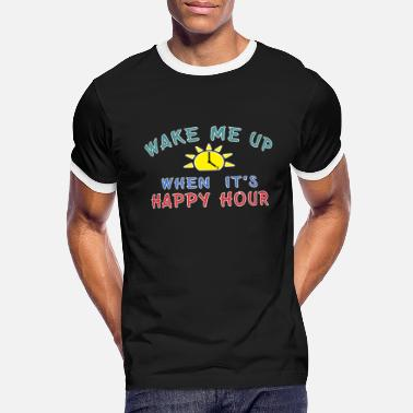 Liquor Happy Hour Moonshine Libation Liquor Mixologist. - Men's Ringer T-Shirt