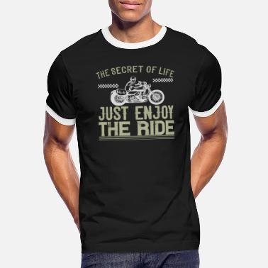 Motorcycle Biker Gift - Men's Ringer T-Shirt