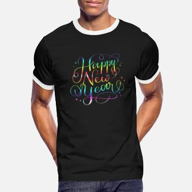 New Years New Year's Eve 2020. Happy New Year. - Men's Ringer T-Shirt