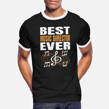 Acting Best Music Director Ever Musician Band Director - Men's Ringer T-Shirt