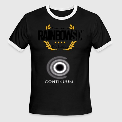 Rainbow Six Seige Pro League Continuum - Men's Ringer T-Shirt