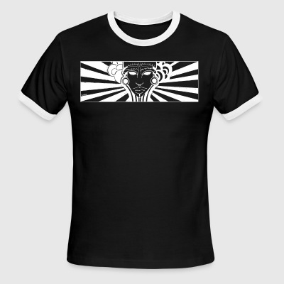 maya face - Men's Ringer T-Shirt
