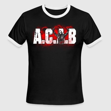 ACAB Pyro - Men's Ringer T-Shirt