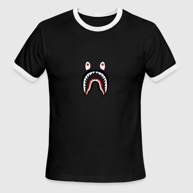 Bape shark shirts - Men's Ringer T-Shirt