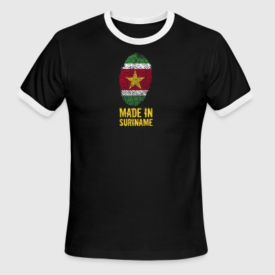 Made In Suriname / Sranan - Men's Ringer T-Shirt