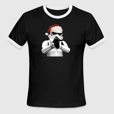 Santa Trooper - Men's Ringer T-Shirt