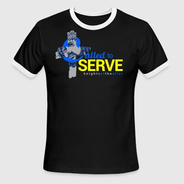 Called to Serve: Knights of the altar - Men's Ringer T-Shirt