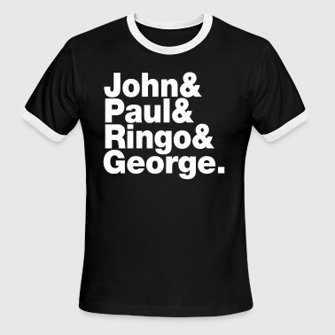 JOHN PAUL RINGO GEORGE - Men's Ringer T-Shirt