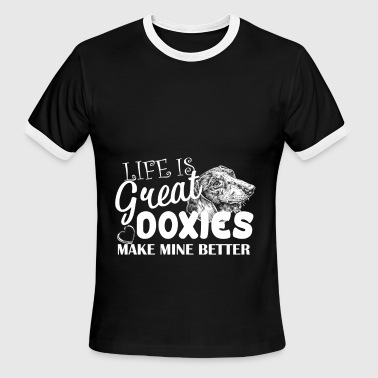 Doxies Make Mine Better Shirt - Men's Ringer T-Shirt