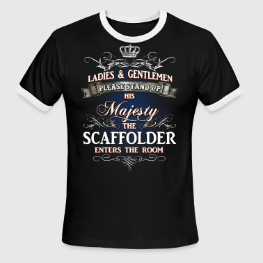 Shirts for Men, Job Shirt Scaffolder - Men's Ringer T-Shirt