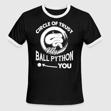 Ball Python Tee Shirt - Men's Ringer T-Shirt