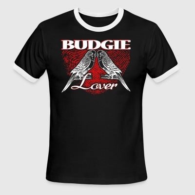 BUDGIE LOVER SHIRT - Men's Ringer T-Shirt