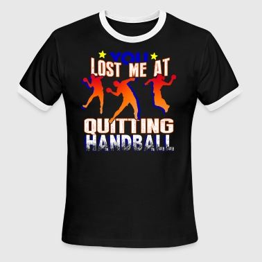QUIRKY HANDBALL SHIRT - Men's Ringer T-Shirt