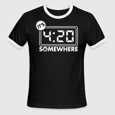 It s Four Twenty - Men's Ringer T-Shirt